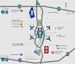 Florida Airport Map Parking Orlando International Aiport Mco