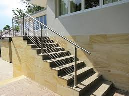 Steel Handrails For Steps Stainless Handrail Diy Kit Type 4 Staircase Handrail With