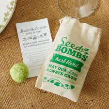 seed wedding favors seeds wedding favors beau coup