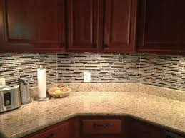 glass tile backsplash grout color finishing cabinets best prices