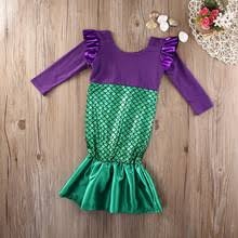 Mermaid Halloween Costumes Baby Popular Babies Halloween Costumes Mermaid Buy Cheap Babies