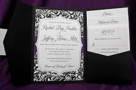 invitations for wedding purple wedding invitation designs registaz