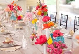 summer wedding centerpieces bright floral centerpieces for a summer wedding unique wedding
