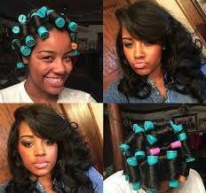 roller set relaxed hair best 25 roller set natural hair ideas on pinterest roller set