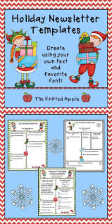 father christmas letter templates free best 10 parent newsletter template ideas on pinterest teacher free editable newsletter templates in a holiday theme
