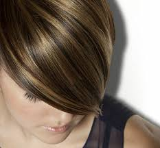 foil highlights for brown hair amherst nh hair color salon luxe le spa