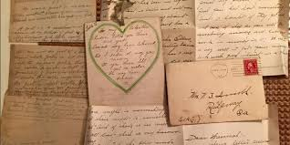 a woman found a stash of 100 year old love letters in the ceiling