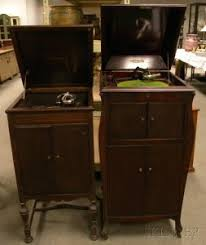 victrola record player cabinet search all lots skinner auctioneers