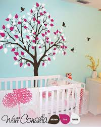 Tree Nursery Wall Decal Baby Nursery Decor Bird Baby Nursery Tree Wall Decals Sle