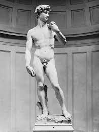 Michelangelo David Statue Think Art David