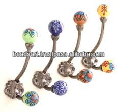 Decorative Coat Hook Hand Crafted Wall Coat Hooks With Ceramic Knob Buy Antique Wall