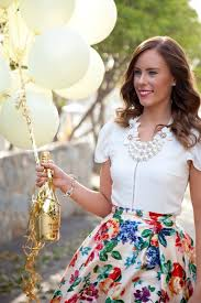 30th birthday flowers and balloons celebrating my 30th birthday this floral skirt chagne and