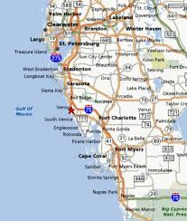 map of gulf coast florida the beaches in venice are beautiful venice florida and