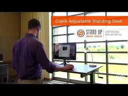 Height Adjustable Standing Desk by 48
