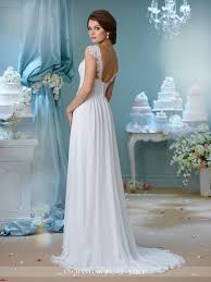 illusion cap sleeve wedding dress 216160 enchanting by mon cheri