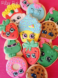 cookie party supplies shopkins theme sugar cookies shopkins party shopkins birthday