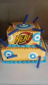 nerf gun cake snazzy birthday cakes pinterest nerf gun cake