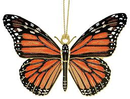 monarch butterfly ornament traditional ornaments