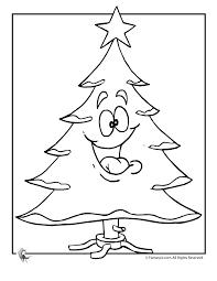 merry christmas tree coloring woo jr kids activities