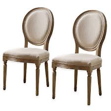 shiraz linen oval back dining chairs set of 2 linens and house