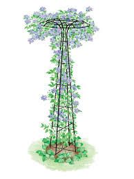 garden trellises u0026 obelisks for yard u0026 landscape gardeners com