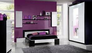 chambre violet blanc noir blanc et violet colours combinations home deco bedroom
