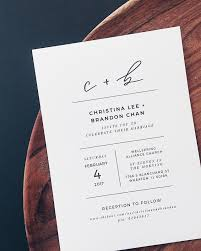 and white wedding invitations minimalist black and white lettered wedding invitations