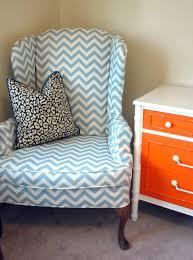 Wingback Chair Slipcover Pattern Slipcover Wingback Chair Box Cushion For Not T Slipcovers Chairs