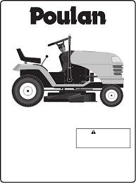 poulan lawn mower pxt16542 user guide manualsonline com