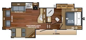 open road 5th wheel floor plans 2018 eagle ht fifth wheel 27 5rlts jayco inc