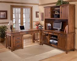 Computer Desk With Hutch Buy Cross Island Credenza Desk With Hutch By Millennium From Www