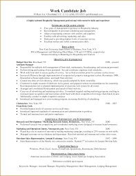 Campaign Manager Resume Sample by Hospitality Resume Template Free Resume Example And Writing Download