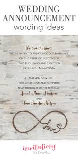 wedding announcements wedding announcement wording invitations by