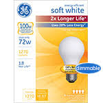 ge energy efficient soft white incandescent light bulbs ge