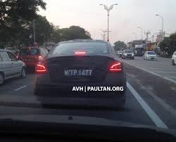 nissan almera tail light spyshots 2014 nissan teana sighted in rawang