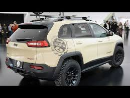 tan jeep cherokee new jeep cherokee canyon trail 2015 easter jeep safari youtube