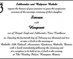 sikh wedding invitations sikh wedding invitations with sensational