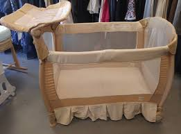 Playpen With Changing Table And Bassinet Parents And Babies Need A Good Night U0027s Sleep Rest Easy When You