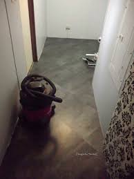 How To Fix Lifting Laminate Flooring Laundry Room Makeover U2013 How To Repair A Floor And Lay New Flooring