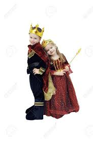 two small children dressup in their halloween costumes one