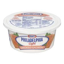 philadelphia light cream cheese spread philadelphia 250 gr cream cheese light smoked salmon 1 tub each