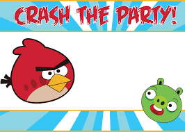 choosing angry birds birthday party as your children birthday