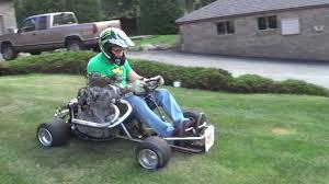 homemade truck go kart epic 500cc homemade shifter kart death trap youtube