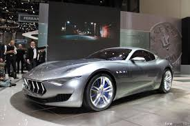 maserati concept cars maserati alfieri concept previews new halo model
