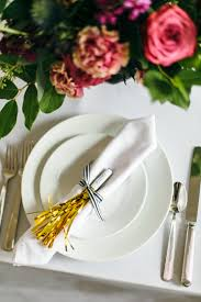 place cards diy how to diy metallic fringe place cards a practical wedding