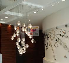 Ball Chandelier Lights Aliexpress Com Buy Creative Restaurant Lighting Lamps Led Meteor