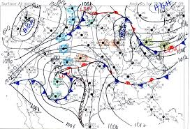 Weather Fronts Map Part 2 Surface Weather Observations Metars And Synoptic Scale