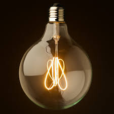specialty light bulb stores 3 watt dimmable loop filament led e27 clear 125mm lify