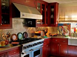 bathroom red cabinets in kitchen red cabinets in kitchen