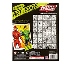 art with edge justice league collection crayola